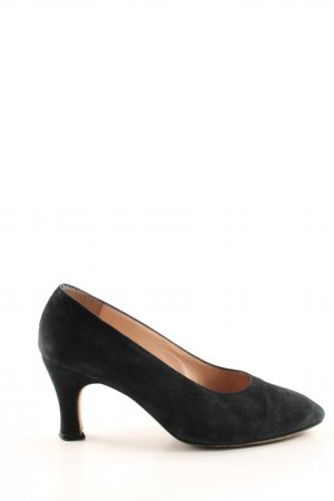 Joop! High Heels schwarz-goldfarben Business-Look