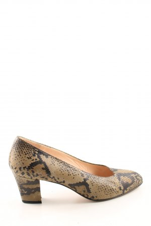 Joop! High Heels braun Animalmuster Casual-Look