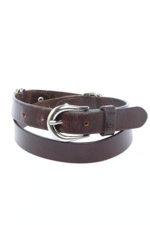 Joop! Cinturón de cadera marrón look casual
