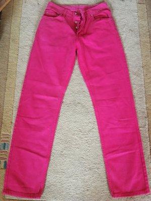Joop! Spodnie rurki różowy
