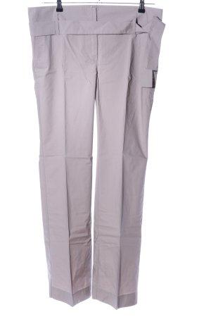 Joop! Jeans Bundfaltenhose hellgrau Business-Look
