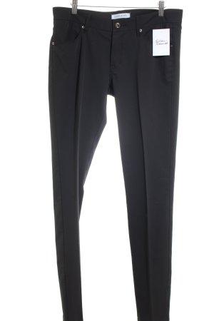 Joop! Jeans Bundfaltenhose schwarz klassischer Stil