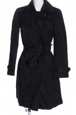 Joop! Jeans Dufflecoat schwarz Business-Look