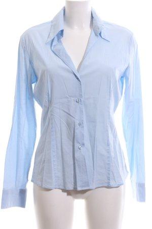 Joop! Jeans Hemd-Bluse blau Business-Look