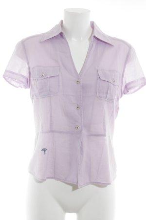 Joop! Jeans Hemd-Bluse blasslila Business-Look