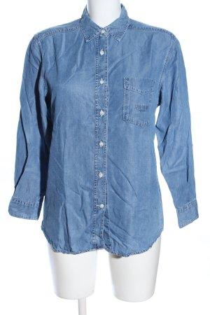 Joop! Jeans Jeansbluse blau Casual-Look