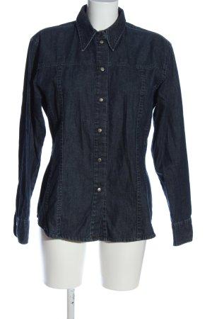 Joop! Jeans Jeanshemd blau Casual-Look
