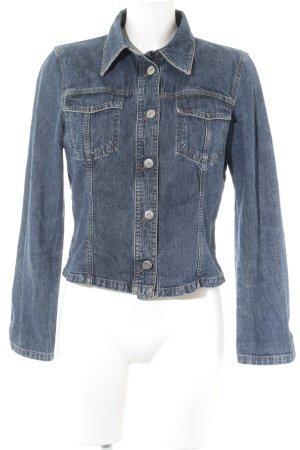 Joop! Jeans Jeansjacke dunkelblau Casual-Look