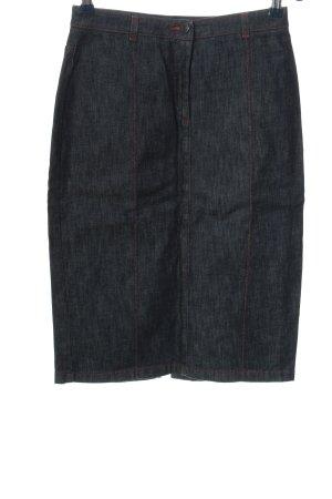 Joop! Jeans Jeansrock blau Streifenmuster Casual-Look