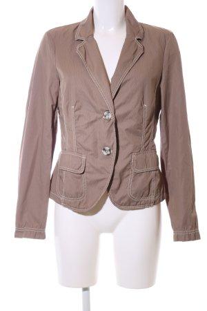 Joop! Jeans Kurz-Blazer bronzefarben Steppmuster Casual-Look