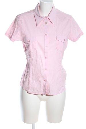Joop! Jeans Kurzarm-Bluse pink Casual-Look