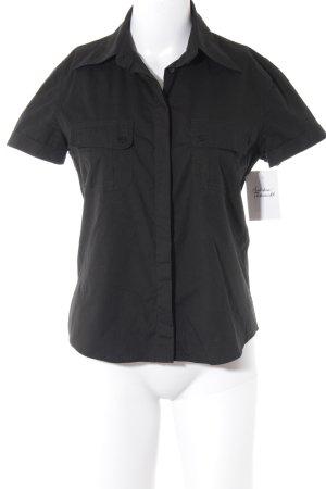 Joop! Jeans Kurzarmhemd schwarz Casual-Look