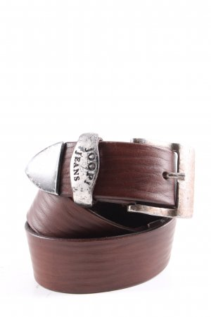 Joop! Jeans Leather Belt brown casual look