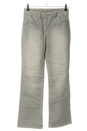 Joop! Jeans Straight-Leg Jeans hellgrau Casual-Look