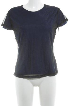 Joop! Jeans T-Shirt schwarz-blau Street-Fashion-Look