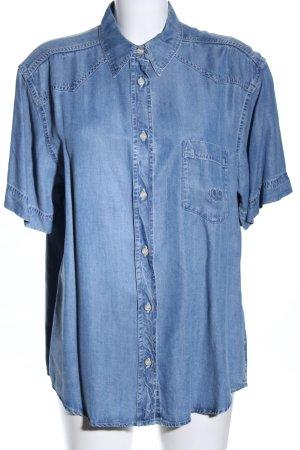 Joop! Jeansowa koszula niebieski W stylu casual