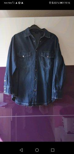 Joop! Jeansowa koszula ciemnoniebieski