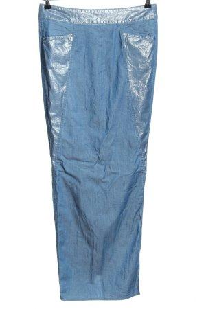Joop! Falda vaqueras azul look casual