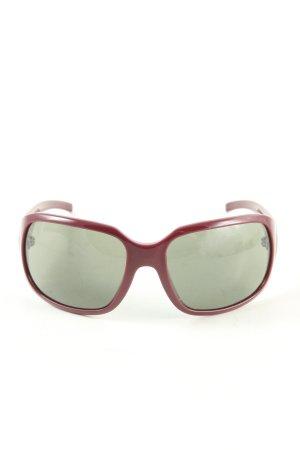 Joop! Occhiale squadrato rosso stile professionale