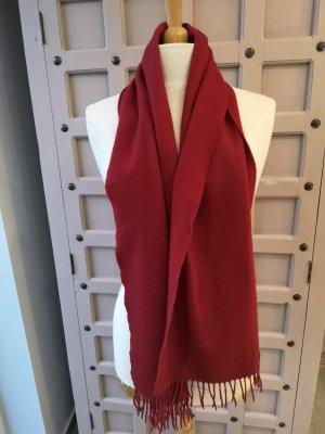 Joop! Sciarpa di lana rosso scuro