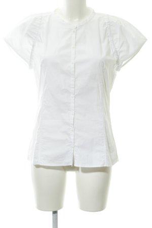 Joop! Kurzarm-Bluse weiß-wollweiß Casual-Look