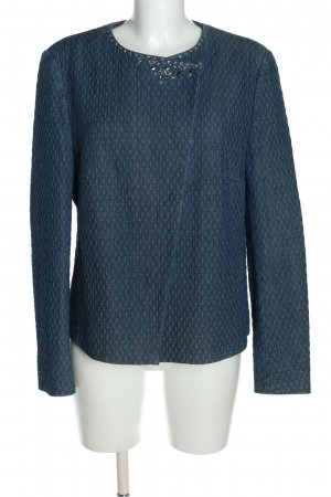 Joop! Krótka kurtka niebieski Wzór w paski W stylu casual