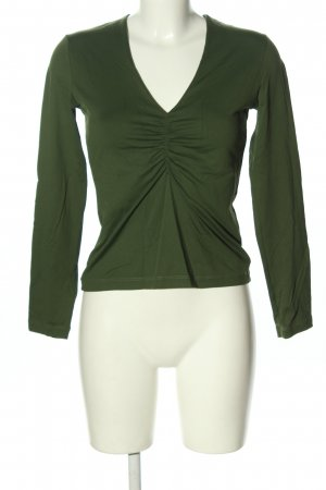 Joop! Blusa de manga larga verde look casual