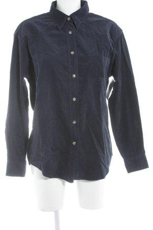Joop! Langarmhemd dunkelblau Casual-Look
