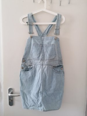 Joop! Jeans Pinafore Overall Skirt pale blue-light blue