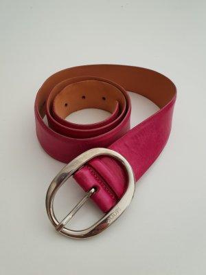 Joop! Leather Belt magenta