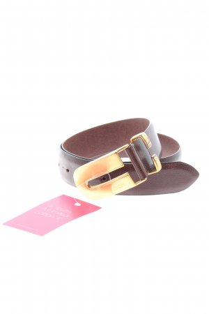 Joop! Cinturón de cuero color oro-marrón-negro Cuero