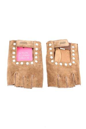 Joop! Leren handschoenen bruin casual uitstraling