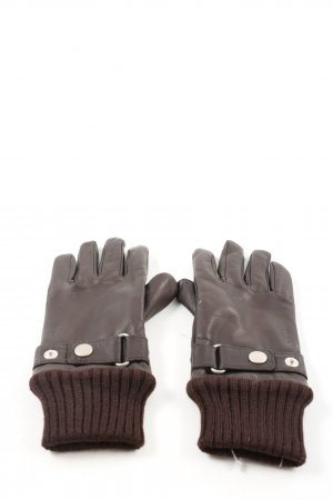 Joop! Leather Gloves brown casual look