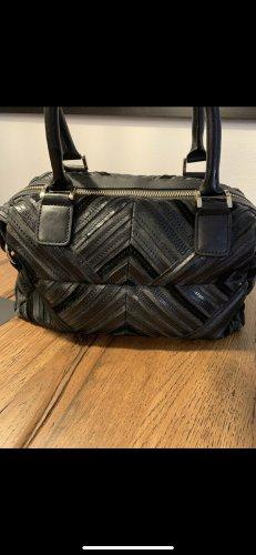 Joop Lederhandtasche in schwarz