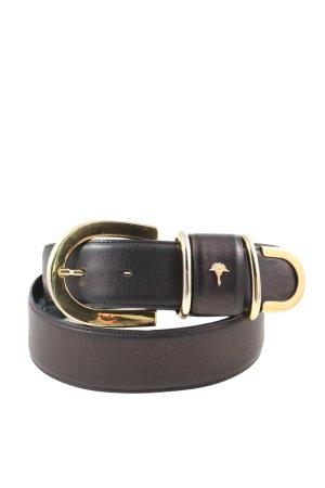 Joop! Cinturón de cuero de imitación negro look casual