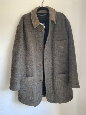 Joop! Wełniany płaszcz Wielokolorowy
