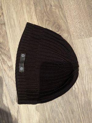 Joop! Sombrero de punto marrón oscuro
