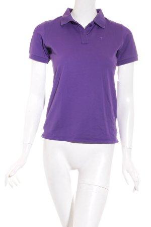 Joop! Polo-Shirt lila Casual-Look