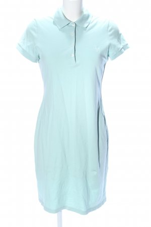 Joop! Polo Dress turquoise casual look
