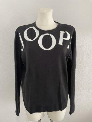 JOOP Pullover schwarz Gr 40 Baumwolle