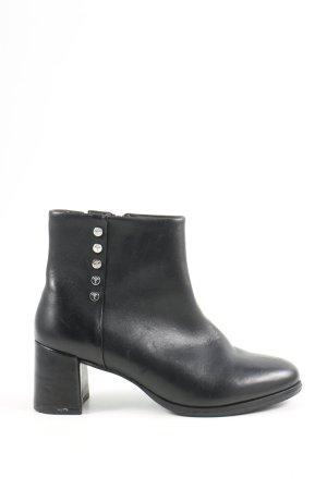 Joop! Reißverschluss-Stiefeletten schwarz Casual-Look