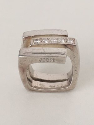 Joop! Anello d'argento argento