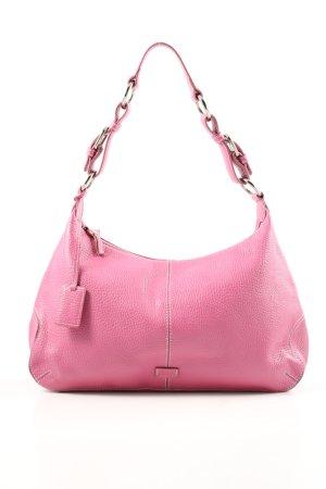 Joop! Schultertasche pink Motivdruck Casual-Look