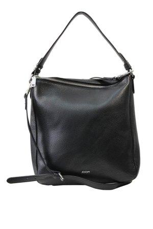 JOOP! Schultertasche in Schwarz aus Leder