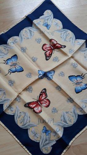 Joop! Foulard en soie bleu