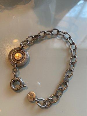 JOOP! Silberarmkette mit kleinen Steinchen