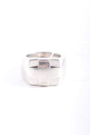 Joop! Zilveren ring zilver casual uitstraling