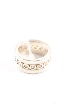 Joop! Zilveren ring goud casual uitstraling