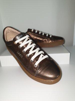 Joop! Basket à lacet bronze cuir