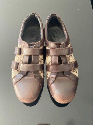 Joop! Zapatillas con hook-and-loop fastener marrón claro-marrón oscuro Cuero